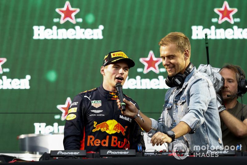 Vainqueur : Max Verstappen (Red Bull)