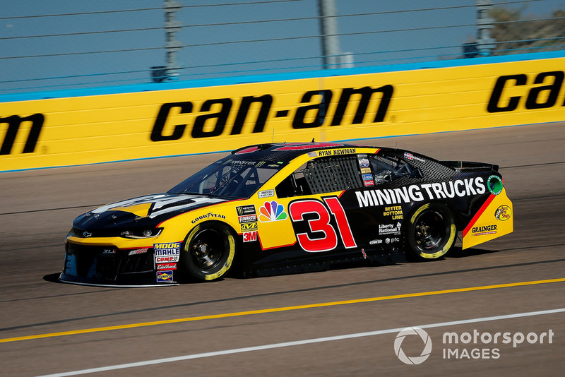 22. Ryan Newman, Richard Childress Racing, Chevrolet Camaro Cat Global Mining