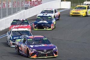Denny Hamlin, Joe Gibbs Racing, Toyota Camry FedEx Freight, Jamie McMurray, Chip Ganassi Racing, Chevrolet DC Solar