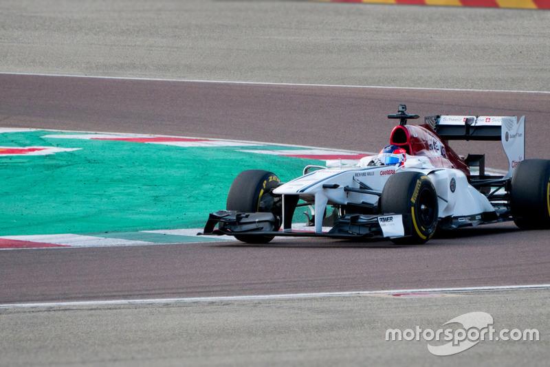 Test de Tatiana Calderón, Sauber F1