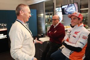 Christian Sarron, Marc Marquez, Repsol Honda Team