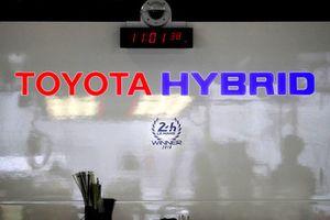 Un logo Toyota Gazoo Racing