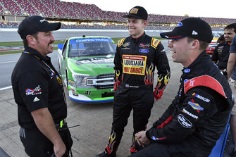 Myatt Snider, ThorSport Racing, Ford F-150 Ride TV/Louisiana Hot Sauce and Ben Rhodes, ThorSport Racing, Ford F-150 The Carolina Nut Co.
