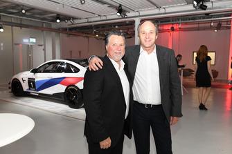 Michael Andretti und Gerhard Berger
