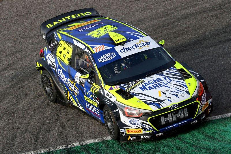 Antonio Cairoli, Eleonora Mori, Hyundai NG i20 WRC