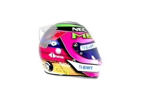 Casque spécial de Sergio Perez, Racing Point Force India au GP du Mexique