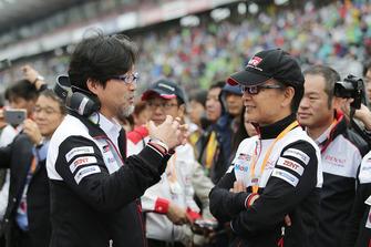 Hisatake Murata, TMG Team, Presidente, Shigeki Tomoyama, Presidente Gazoo Racing