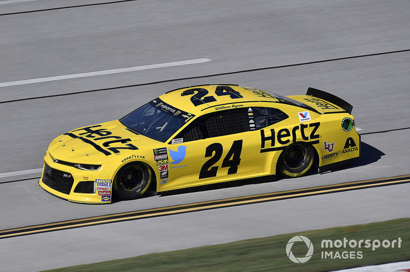 8. William Byron, Hendrick Motorsports, Chevrolet Camaro Hertz