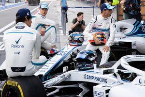 Sergey Sirotkin, Williams Racing, Robert Kubica, Williams and Lance Stroll, Williams Racing at the Williams Team Photo