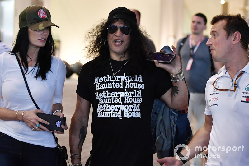 Slash, legendario guitarrista de Guns N' Roses