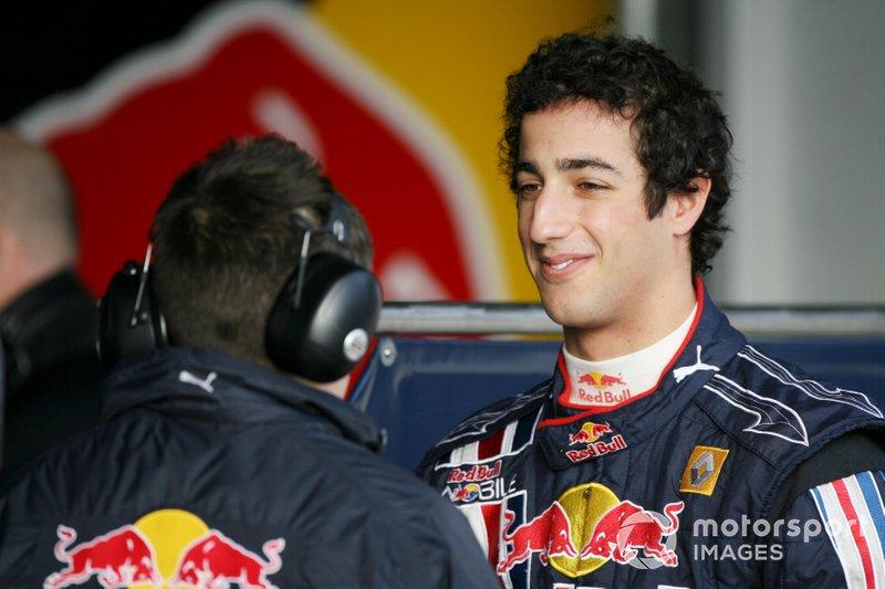 Daniel Ricciardo vor zehn Jahren ...