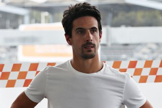 Lucas di Grassi prepares to drive