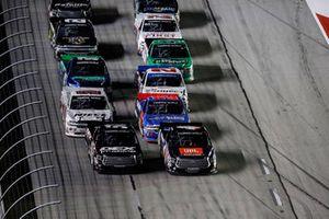Harrison Burton, Kyle Busch Motorsports, Toyota Tundra DEX Imaging, Todd Gilliland, Kyle Busch Motorsports, Toyota Tundra JBL/SiriusXM