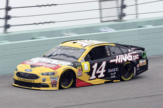 Clint Bowyer, Stewart-Haas Racing, Ford Fusion Rush Truck Centers/Haas Automation VF1