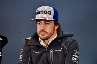Fernando Alonso, McLaren in Press Conference