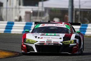 #88 WRT Speedstar Audi Sport Audi R8 LMS GT3, GTD: Frederic Vervisch, Kelvin van der Linde, Ian James, Roman DeAngelis