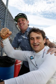 Jimmy Vasser y Alex Zanardi