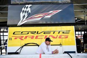 #4 Corvette Racing Corvette C7.R, GTLM: Marcel Fassler