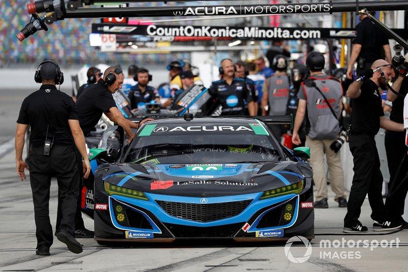 Марио Фарнбахер, Трент Хиндман, Джастин Маркус, Эй-Джей Олмендингер, Meyer Shank Racing with Curb-Agajanian, Acura NSX GT3 (№86)