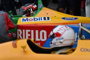 Satoru Nakajima, Lotus lors du tour de démonstration des Légendes