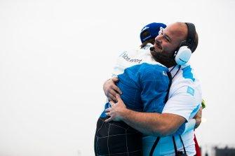 Antonio Felix da Costa, BMW I Andretti Motorsports celebrates victory with his team