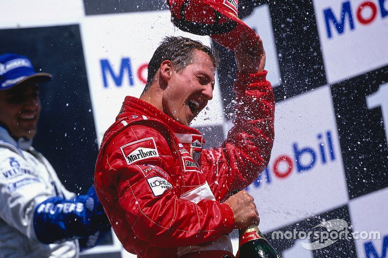 Michael Schumacher, 1994, 95, 00, 01, 02, 03 e 04.