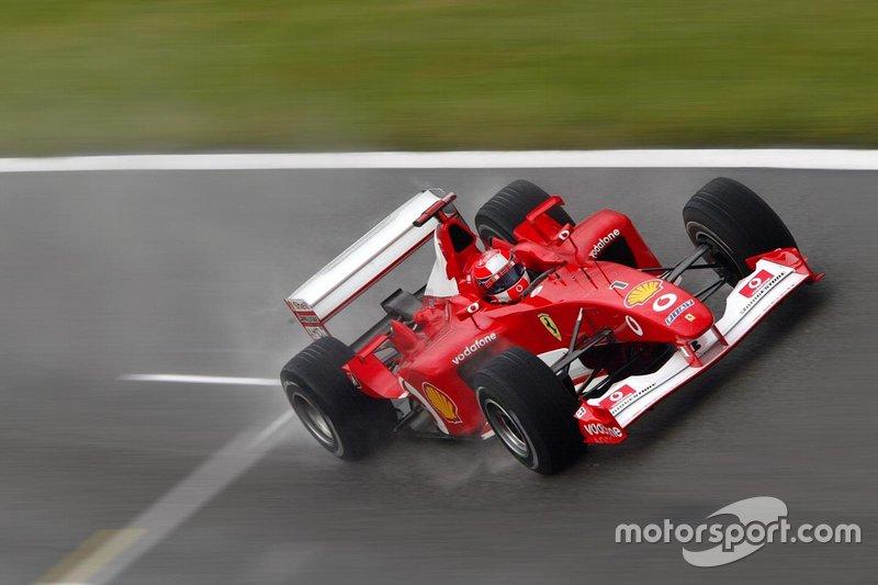 2002 Michael Schumacher, Ferrari