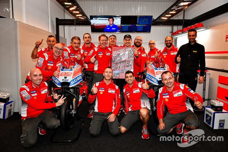 Прощальний вікенд Хорхе Лоренсо у Ducati