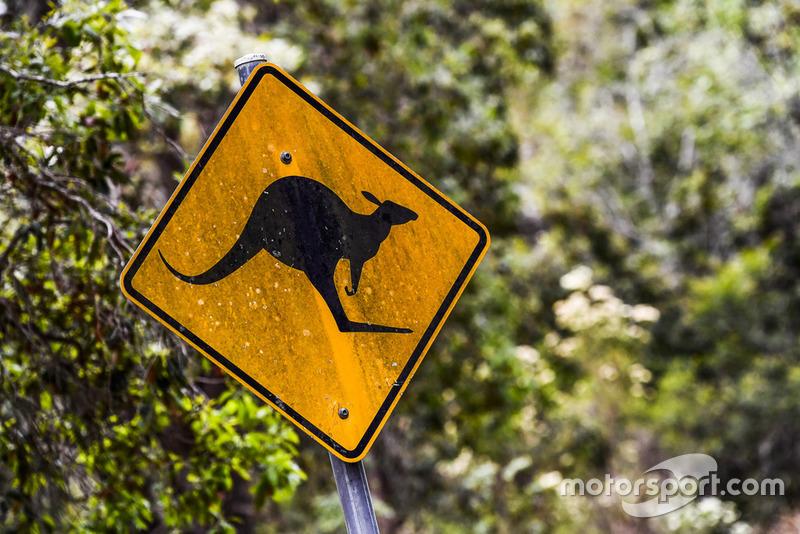 Rally Australia ambiente - canguro logo