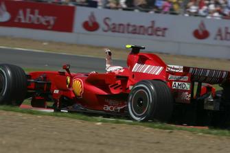 Yarış galibi Kimi Raikkonen, Ferrari F2007