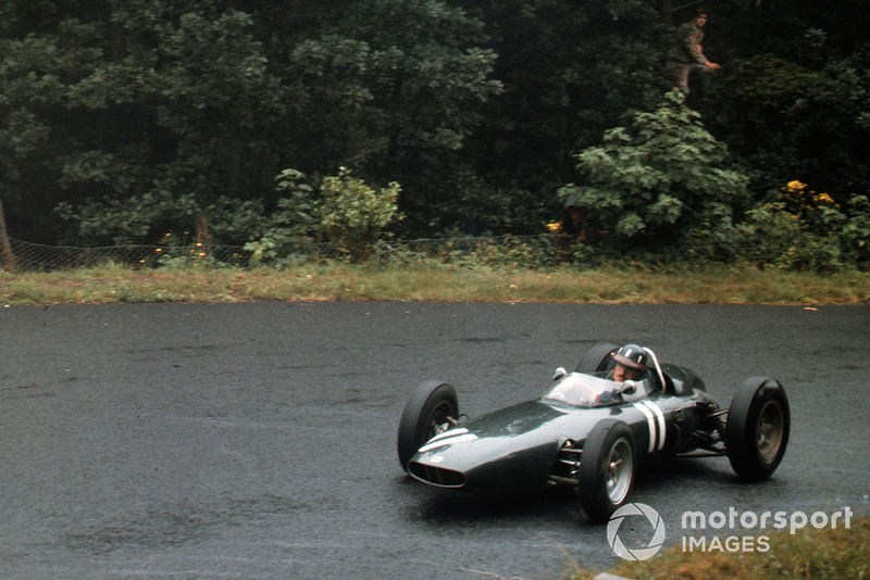 Graham Hill, GP de Alemania 1962, BRM P57