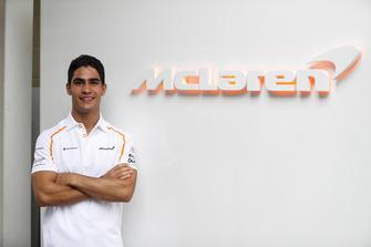 Sergio Sette Camara, tester e pilota sviluppatore, McLaren