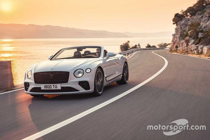 Bentley Continental GT Convertible 2019 року