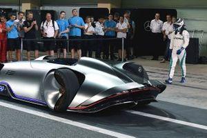 Valtteri Bottas, Mercedes AMG F1 et le concept-car Mercedes-Benz EQ Silver Arrow