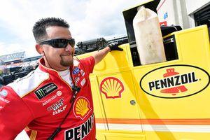 Joey Logano, Team Penske, Ford Fusion Shell Pennzoil Justin Bosch