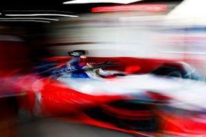 Pascal Wehrlein, Mahindra Racing, M5 Electro, leaves his garage