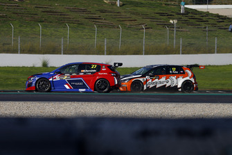 Enrique Hernando, Sports & You Peugeot 308 TCR, Martin Ryba, Brutal Fish Racing Team Volkswagen Golf GTI TCR
