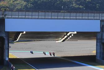 Renn-Action im Mogegi: Andrea Dovizioso, Ducati Team, führt