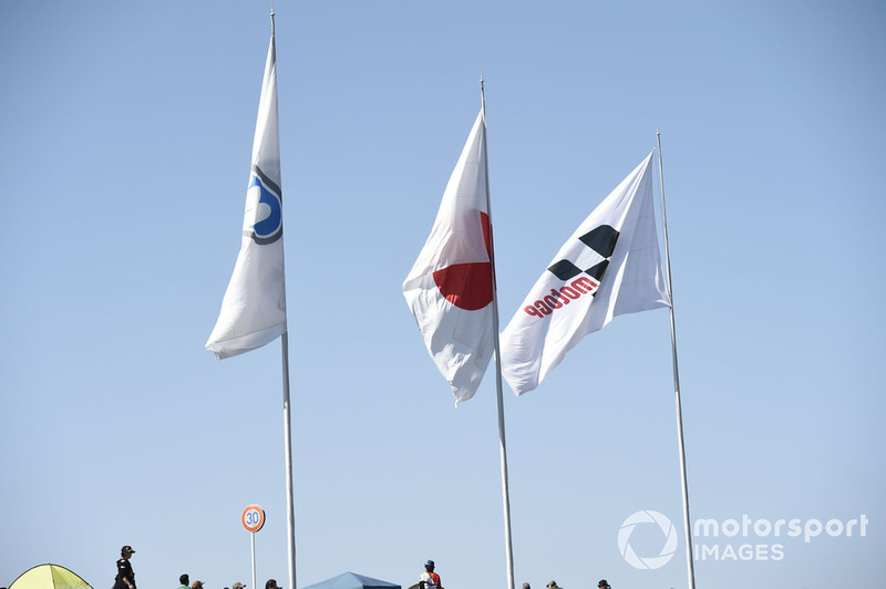 Bendera Twin Ring Motegi, Jepang, dan MotoGP