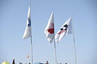 Flaggen: Twin Ring Motegi, Japan, MotoGP