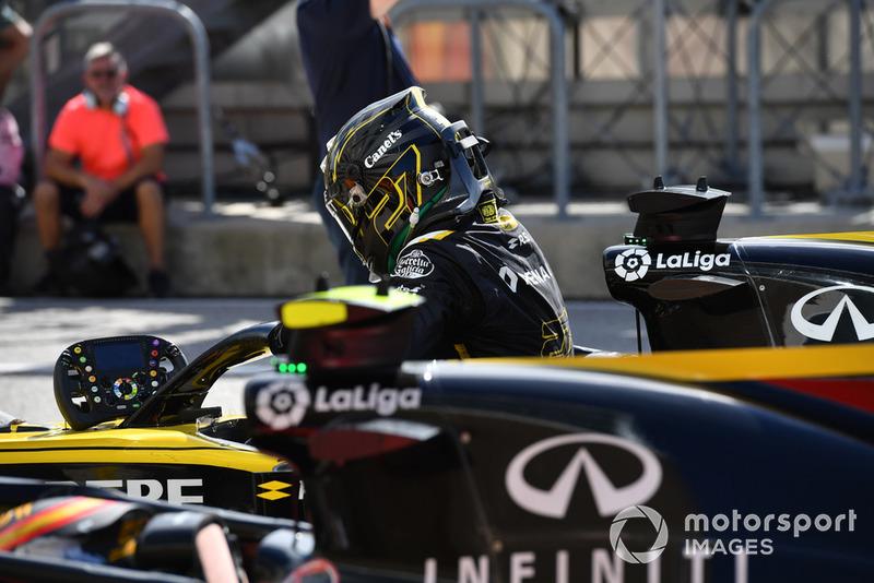 Nico Hulkenberg, Renault Sport F1 Team in parc ferme