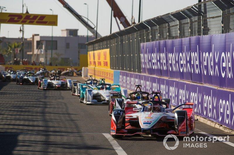 Jérôme d'Ambrosio, Mahindra Racing, M5 Electro, Lucas di Grassi, Audi Sport ABT Schaeffler, Audi e-tron FE05