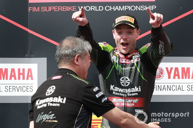 Ganador Alex Lowes, Kawasaki Racing Team