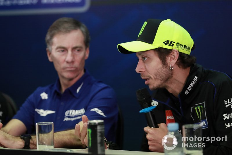 Lin Jarvis, Valentino Rossi, Yamaha Factory Racing