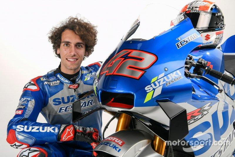 Alex Rins, Equipe Suzuki MotoGP
