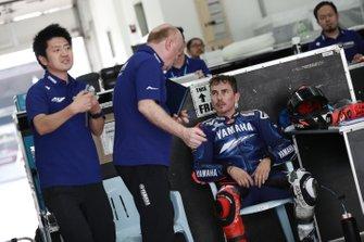 Jorge Lorenzo, Yamaha Factory Racing, mit Silvano Galbusera