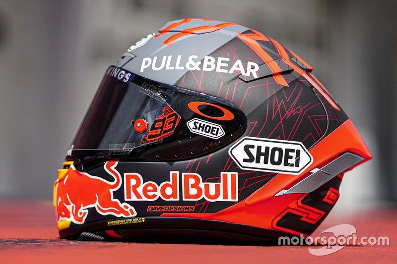 Helmdesign: Marc Marquez, Repsol Honda Team