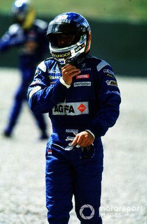 Jean Alesi, Prost AP03 Peugeot retires
