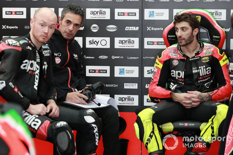 Bradley Smith, Aprilia Racing Team Gresini, Andrea Iannone, Aprilia Racing Team Gresini