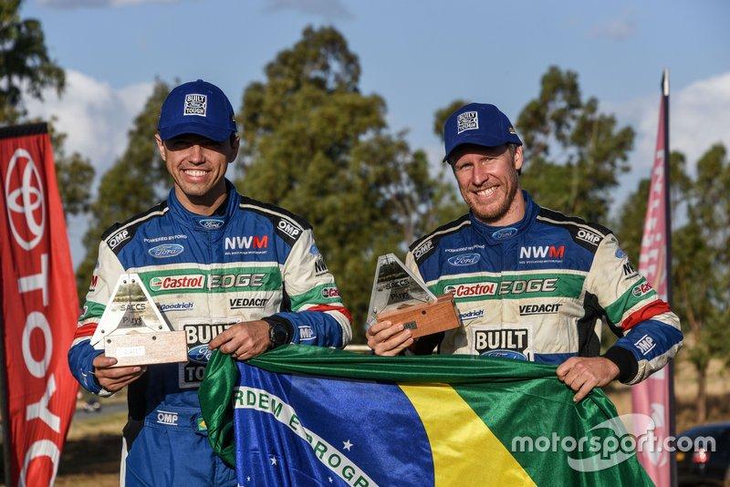 Baumgart e Cincea disputaram o campeonato pela equipe de Neil Woolridge